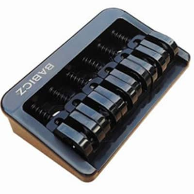Babicz ORIGINAL SERIES FCH6 FIXED BRIDGE, 6 String, black
