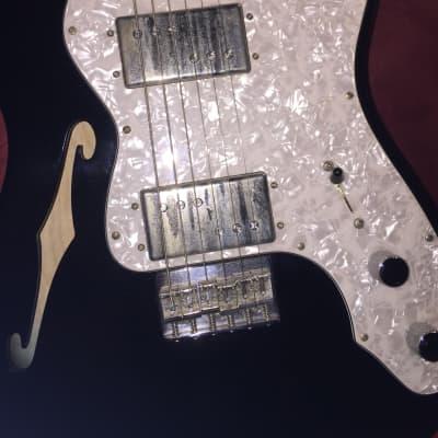 Fender American Vintage '72 Telecaster Thinline 2010 Black