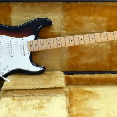 Fender Stratocaster Bullet Era 3-Tone Sunburst RI for sale