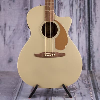 Fender Newporter Player Acoustic/Electric, Champagne for sale
