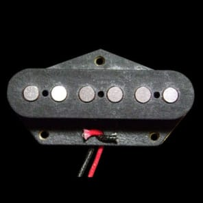 GuitarHeads SUPER TWANG PLUS Telecaster Tele Pickup - Alnico - BLACK - Bridge