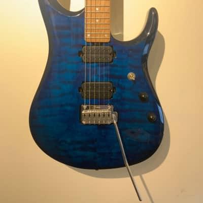 Sterling JP150 John Petrucci Signature with Maple Fretboard Neptune Blue