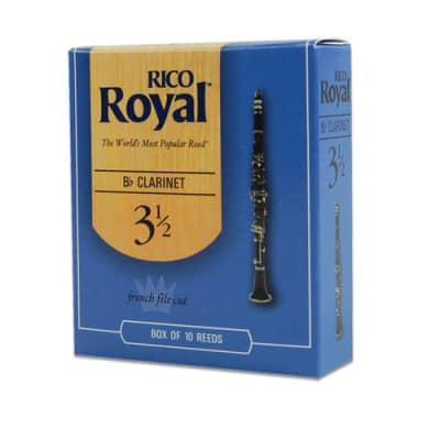 Rico Royal Bb Clarinet 10 Box #1.5 Strength