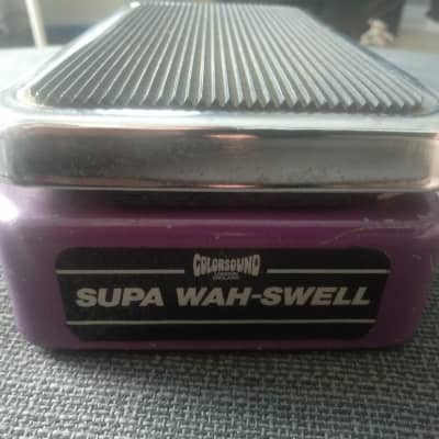 Colorsound Solasound Supa Wah-Swell vintage for sale