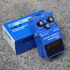 1984 Boss CS-2 Compression Sustainer Compressor MIJ Vintage Effects Pedal w/Box