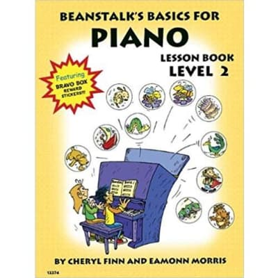 Beanstalk's Basics for Piano Lesson Book - Level 2