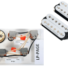 Duncan SH-18 Whole Lotta Humbucker Set, White + Free Page Wiring Harness image