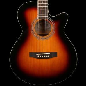 Freshman Renegade Folk Electro Acoustic in Sunburst for sale