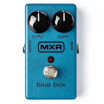 MXR M103 Blue Box Octave Fuzz Guitar Effects Pedal for sale
