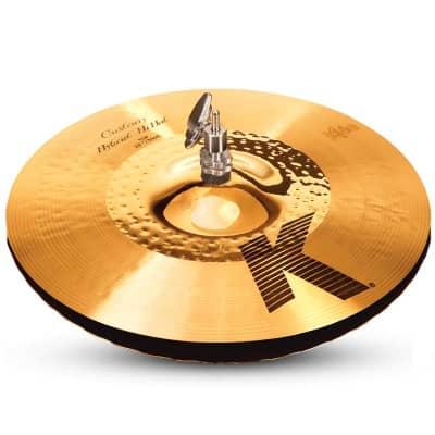 "Zildjian 13.25"" K Custom Hybrid Hi-Hat Cymbal (Bottom)"