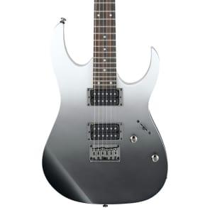 Ibanez RG421PFM Standard 400 Series HH Electric Guitar Pearl Black Faded Metallic