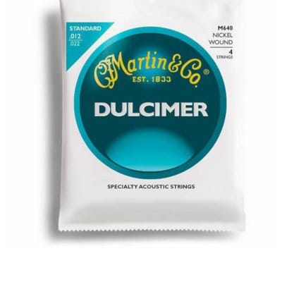 Martin M640 Dulcimer Strings - Light