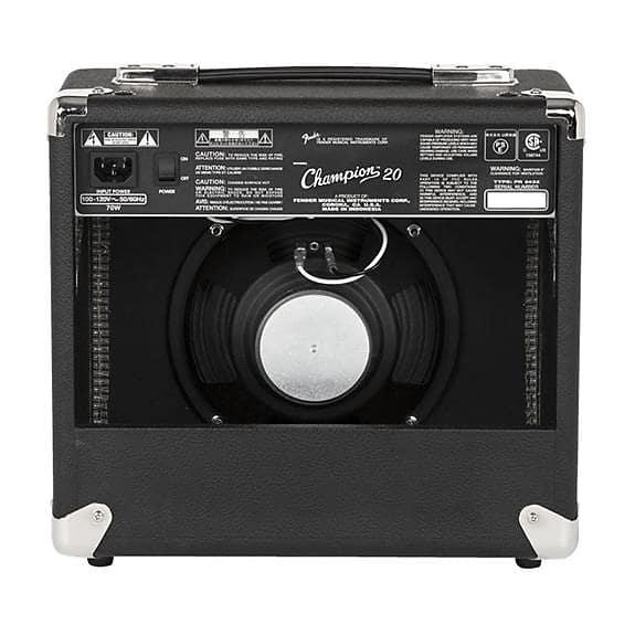 fender champion 20 20 watt guitar combo amplifier reverb. Black Bedroom Furniture Sets. Home Design Ideas
