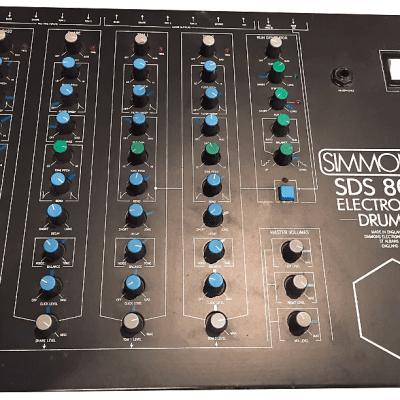 Simmons SDS 800 4-Channel Drum Sound Module 1986