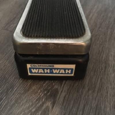 Colorsound Wah Wah Sola Sound 1970s for sale