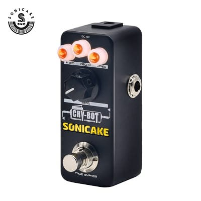 SONICAKE Guitar Pedals Cry-Bot Envelope Filter Autowah for Funk Bass Guitar Players