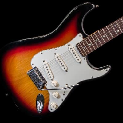 Fender American Deluxe Stratocaster 1998 Sunburst w/ Hard Case for sale