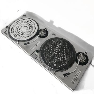 Vintage Technics SL-1200MK2 Vinyl Turntable Pair Quartz Direct Drive 2 Included