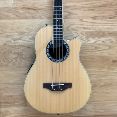 Applause by Ovation AE140 Acoustic-Electric Bass Guitar Natural