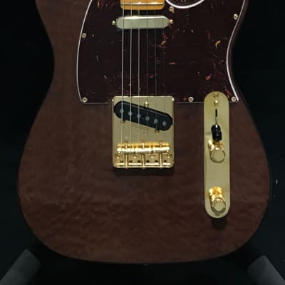 Fender Rarities Series Red Mahogany Top Telecaster Natural 2019 for sale