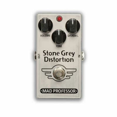 Mad Professor Stone Grey Distortion Modernised Mod Limited Edition Pedal for sale