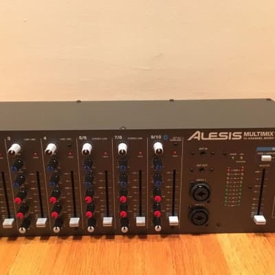 Alesis Multimix 10 Wireless 10-Channel Rackmount Mixer w/ Bluetooth Wireless (Open-Box) 100%-Perfect