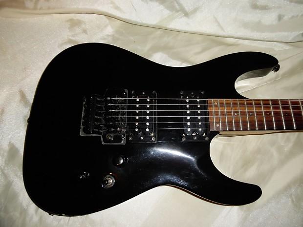 esp ltd mh 50 fr guitars4cancer black floyd rose abalone reverb. Black Bedroom Furniture Sets. Home Design Ideas
