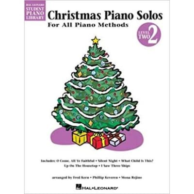 Christmas Piano Solos For All Piano Methods - Level 2