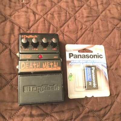 Digitech,Death Metal Distortion Electric Guitar Effects Pedal/NOT WORKING Needs Repair..