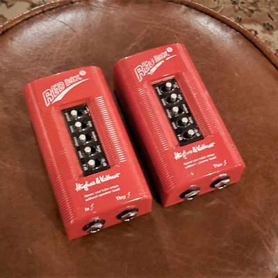 Hughes & Kettner Redbox 5 Amp DI with Cab Sim (PAIR)