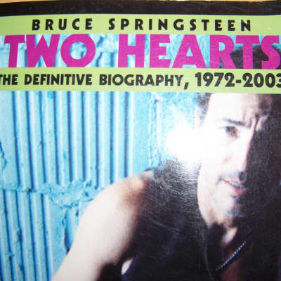Bruce Springsteen Biography 1972-2003, Two Hearts, by Dave Marsh, Paperback Book