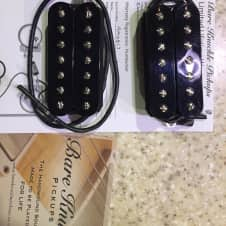 Bare Knuckle Aftermath Set 7 String Black Uncovered