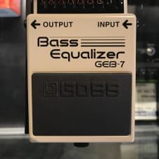 Boss GEB-7 Graphic Bass EQ