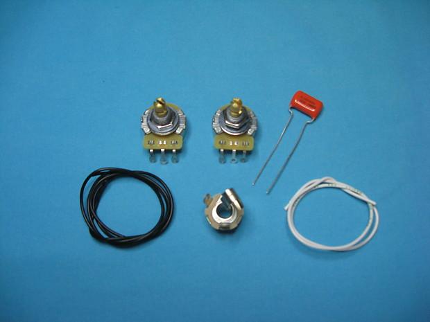 am guitar works les paul jr sg jr wiring kit reverb. Black Bedroom Furniture Sets. Home Design Ideas