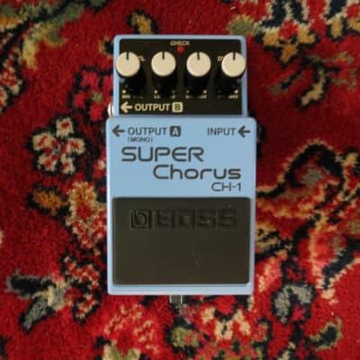 Boss CH-1 Super Chorus (Dark Gray Label) 2019 Blue