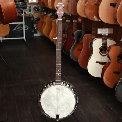 Pilgrim VPB018 Rocky Mountain Model 1 Closed Back Banjo Natural for sale