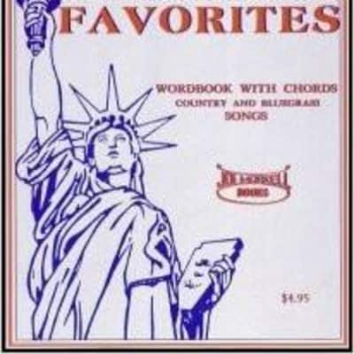 Joe Morrell Books American Music Favorites: Country and Bluegrass Song Book - Word Book with Chords