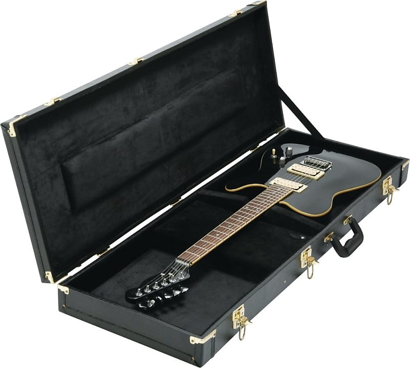 on stage cases hardshell electric guitar case gce6000b reverb. Black Bedroom Furniture Sets. Home Design Ideas