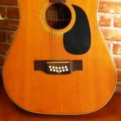 TERADA  ACOUSTIC 12 STRING GUITAR MODEL W 512 - EARLY 1970's NATURAL FINISH see NAGOYA/IBANEZ/ARIA for sale