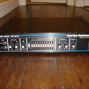 Hartke HA3500 350w Hybrid Bass Head