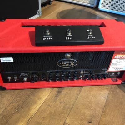 Peavey JSX Joe Satriani Signature 120-Watt Guitar Head RED 2004 image