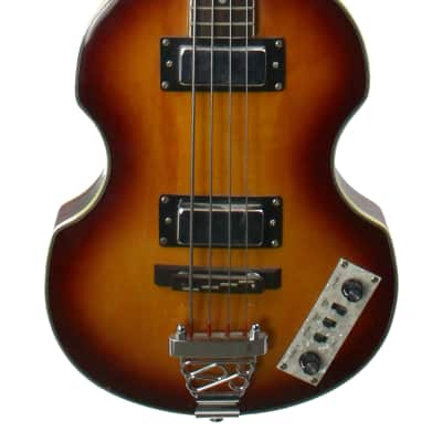 Used Jay Turser Violin Bass Sunburst (Hofner Copy) for sale
