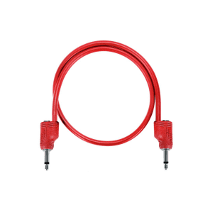 Tiptop Audio Stackcable 3.5mm TS Stackable Shielded Patch Cable - 30cm