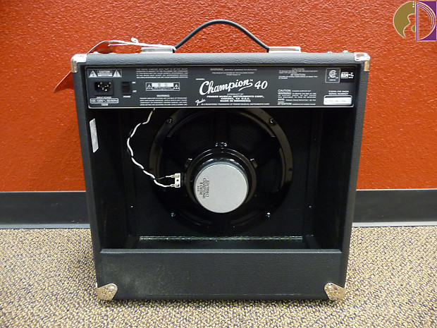 fender champion 40 electric guitar amplifier 40 watts reverb. Black Bedroom Furniture Sets. Home Design Ideas