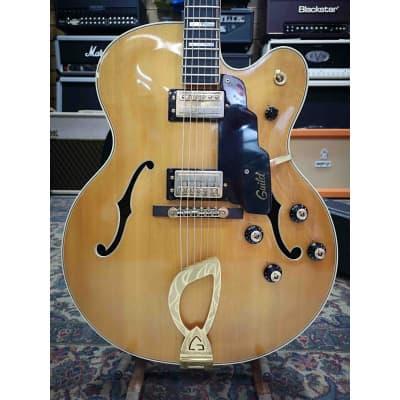 Guitarra Electrica GUILD X-500 1975 Blonde (Segunda Mano) for sale