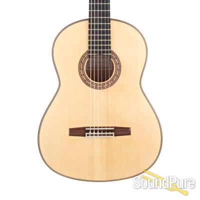 Eduardo Duran Ferrer Concert Blanca Flamenco Guitar - Used for sale