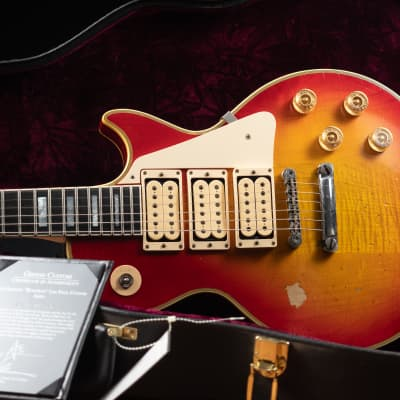 2011 Gibson Limited Aged Ace Frehley Budokan  Les Paul Custom 9'10' Mint *42-R55 for sale