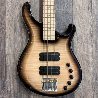 PRS USA Gary Grainger 4 String Custom Color Electric Bass Vintage Natural Dark Burst Maple Neck/Fing