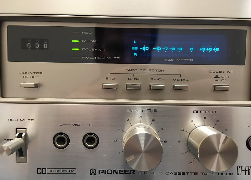 Pioneer Stereo Cassette Tape Deck CT-F650 | Mountain Music