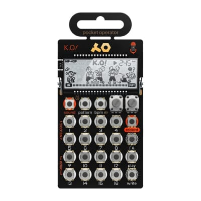 Teenage Engineering PO-33 Pocket Operator K.O! 2018